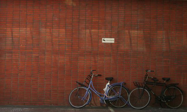 Byłem w Amsterdamie.