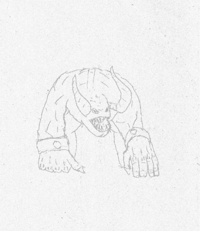 Rogaty demon